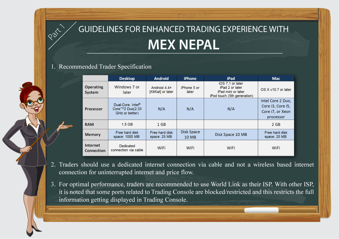 Guidelines for Enhanced Trading Experience with MEX Nepal Part1