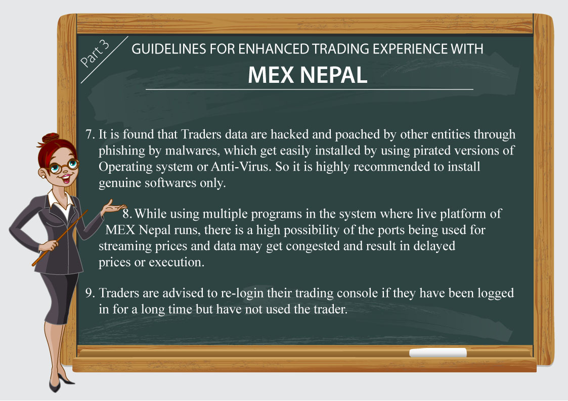 Guidelines for Enhanced Trading Experience with MEX Nepal Part3