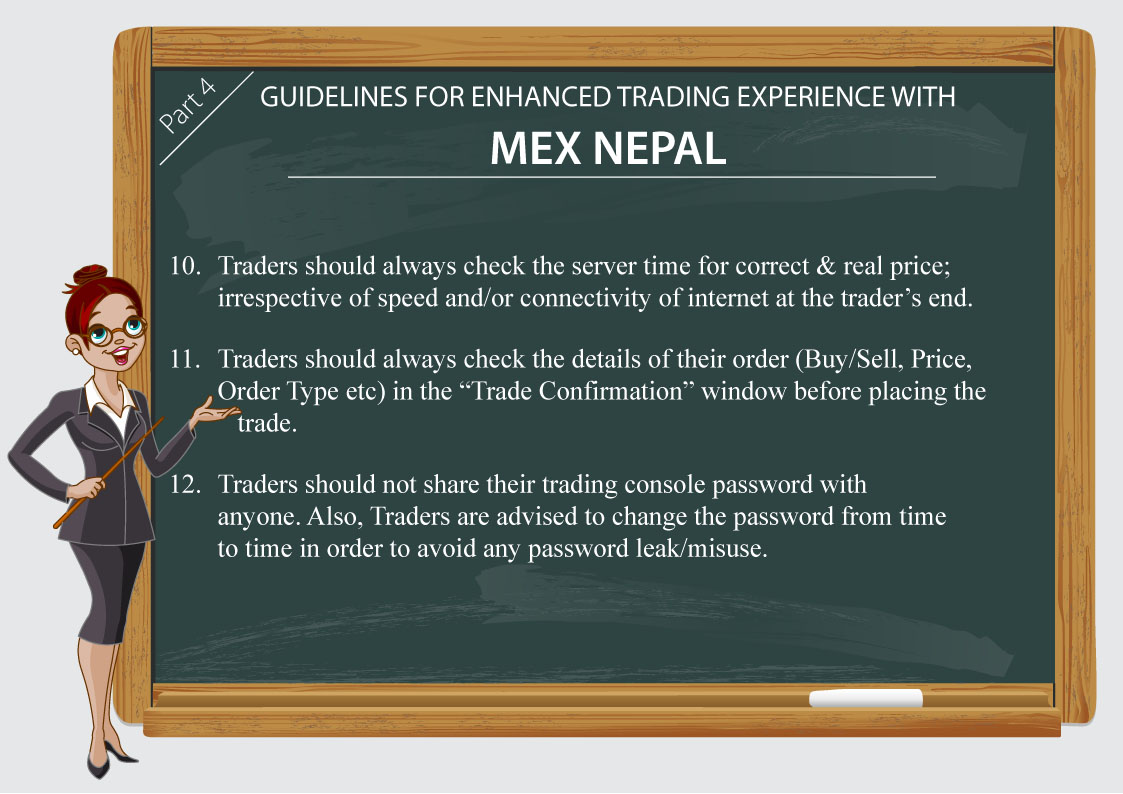 Guidelines for Enhanced Trading Experience with MEX Nepal Part4