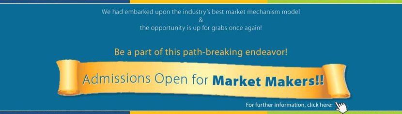 Admissions Open for Market Makers